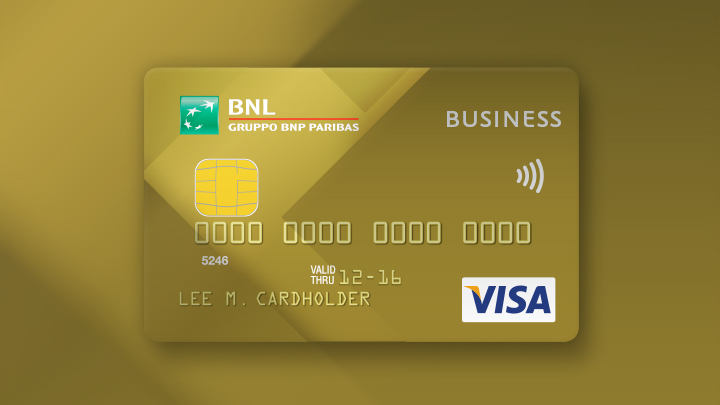 Carta BNL Gold Business